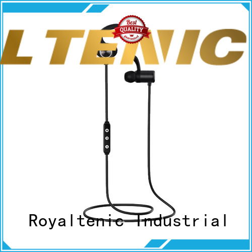 ROYAL TANIC efficient sports bluetooth headphones with mic for work