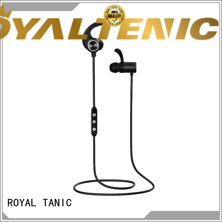 ROYAL TANIC wireless sports bluetooth headphones promotion fro daily life