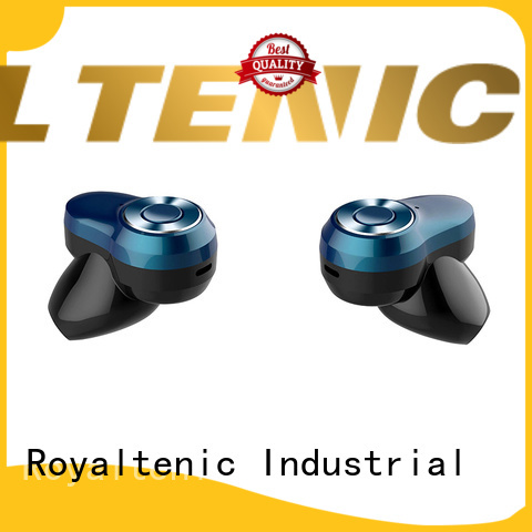 ROYAL TANIC bluetooth sports bluetooth headphones promotion for tv