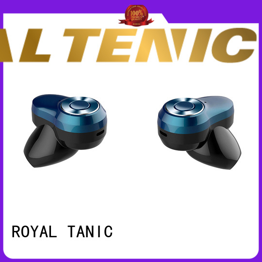 ROYAL TANIC portable sports bluetooth headphones with mic for tv
