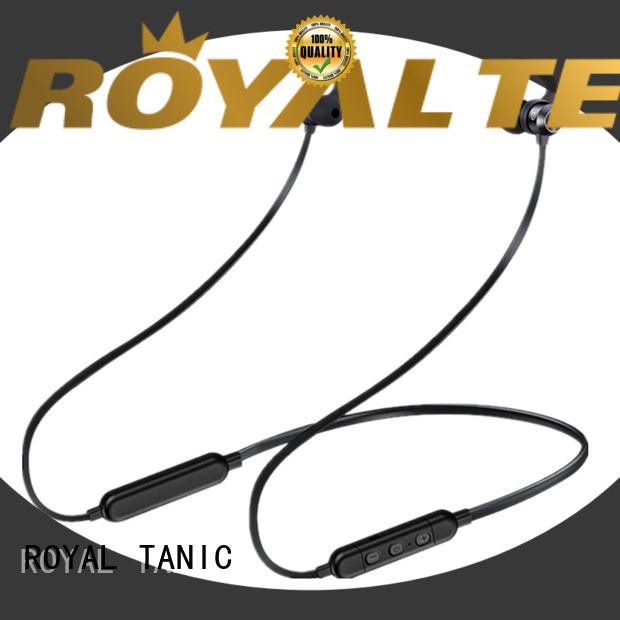ROYAL TANIC sports sports bluetooth headphones with mic for office