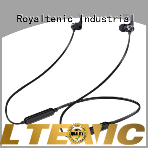 ROYAL TANIC realiable sports bluetooth headphones with mic for office