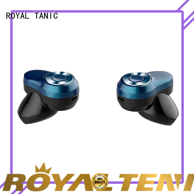 ROYAL TANIC true sports bluetooth headphones supplier for home