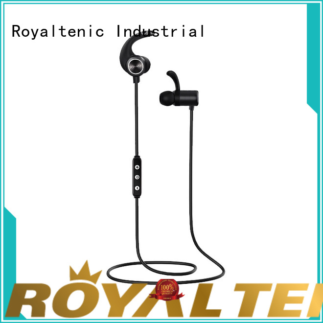 ROYAL TANIC sweatproof sports bluetooth headphones supplier for tv