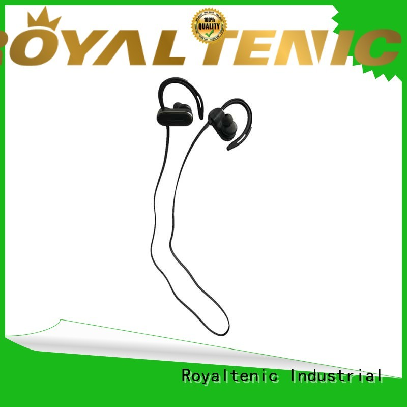 ROYAL TANIC efficient sports bluetooth headphones promotion for phone