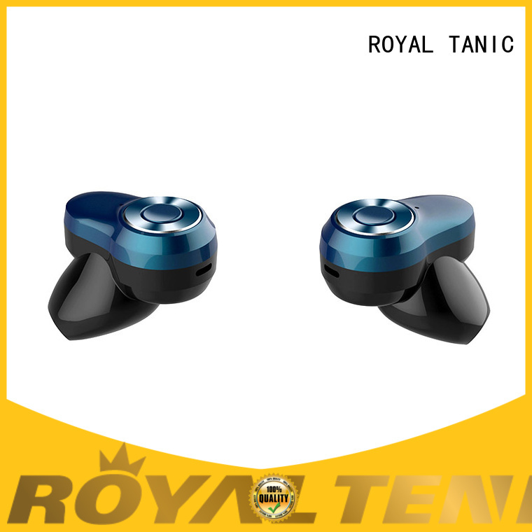 ROYAL TANIC long lasting sports bluetooth headphones promotion for office