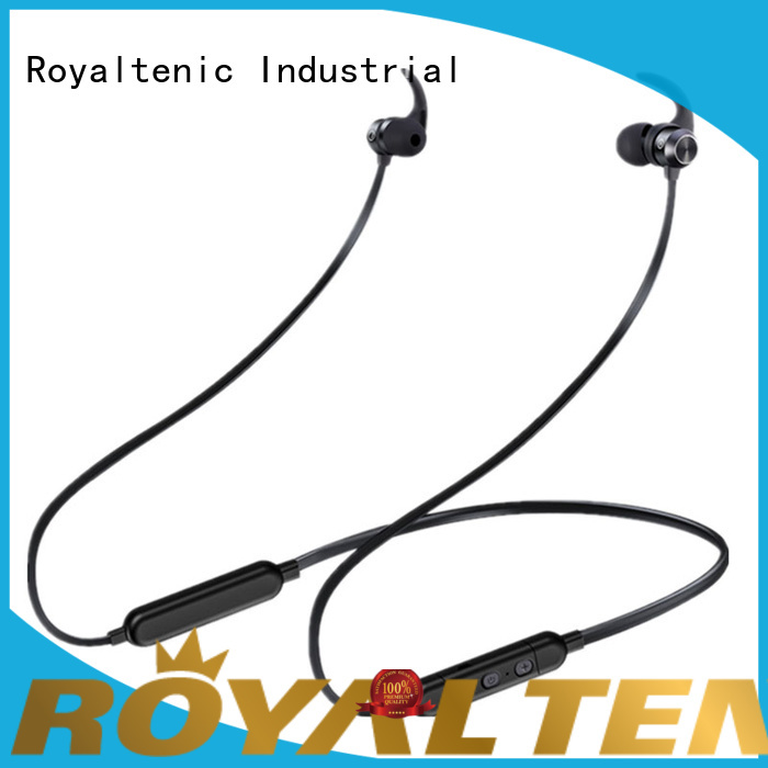 ROYAL TANIC realiable sports bluetooth headphones promotion for office