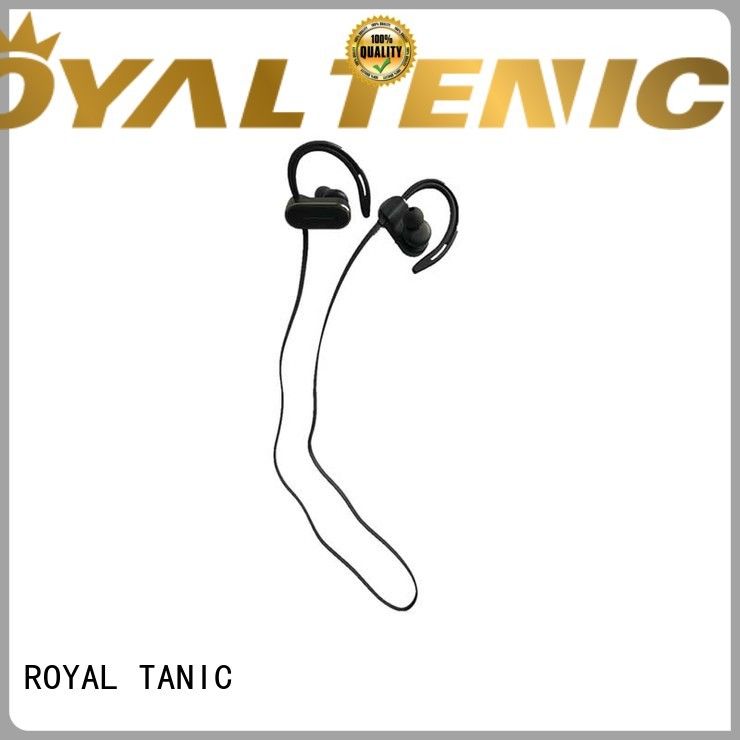 ROYAL TANIC sweatproof sports bluetooth headphones supplier fro daily life