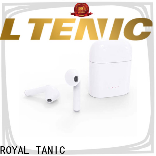 ROYAL TANIC realiable tws wireless earbuds factory price for tv