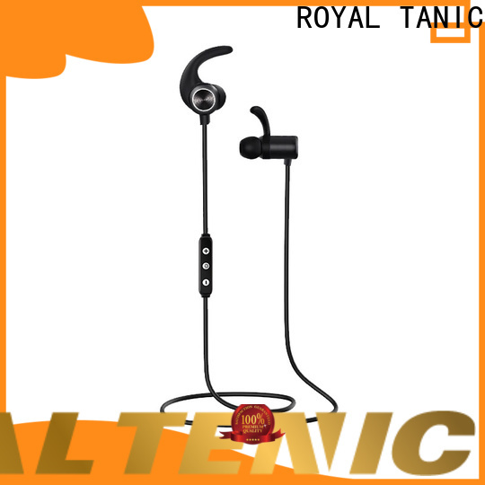 ROYAL TANIC realiable sports bluetooth headphones with mic for home