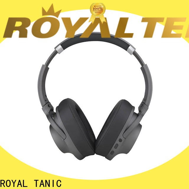 ROYAL TANIC noise isolating headphones promotion for trains