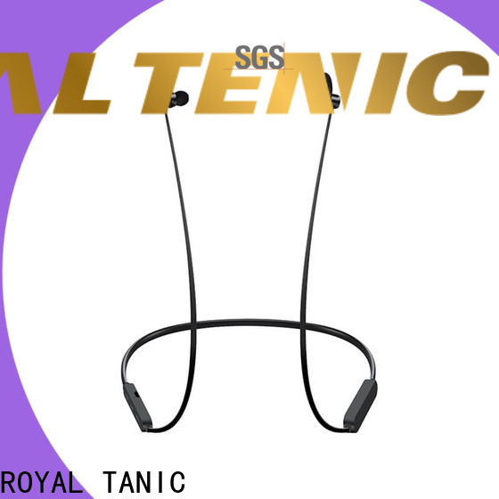 ROYAL TANIC magnet bluetooth headset easy to carry for gym