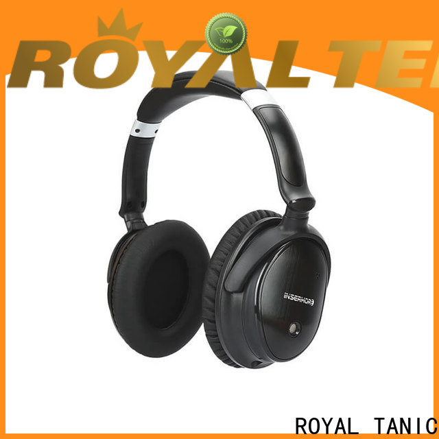 ROYAL TANIC durable anc bluetooth headphones on sale for home