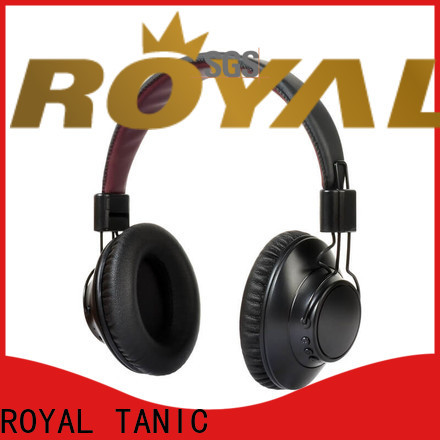 ROYAL TANIC best beats noise cancelling headphones with mic for trains
