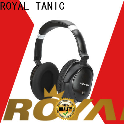 ROYAL TANIC wireless noise cancelling headset supplier for trains