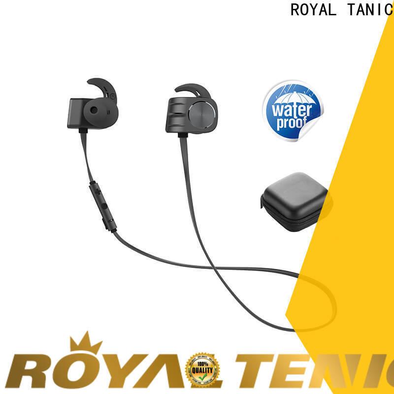 ROYAL TANIC popular magnetic earphones design for hiking