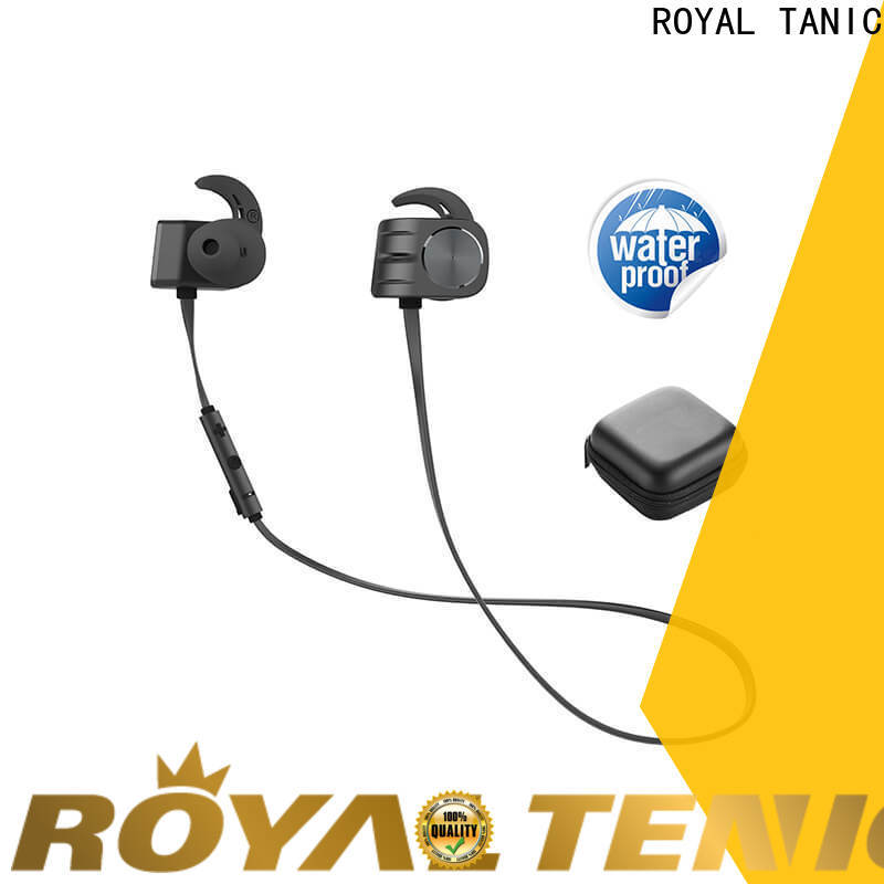 ROYAL TANIC popular magnetic earphones design for hiking