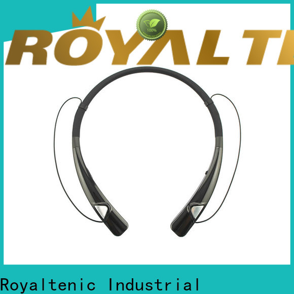 ROYAL TANIC magnet bluetooth headset manufacturer for hiking