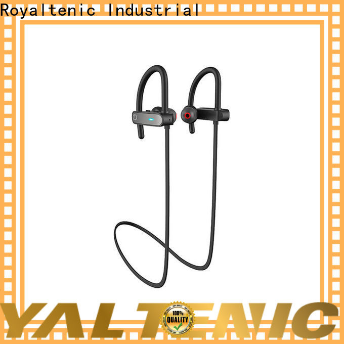 ROYAL TANIC long lasting sports bluetooth headphones customized for hiking