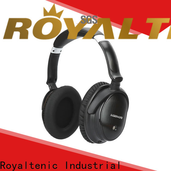 ROYAL TANIC noise isolating headphones supplier for office
