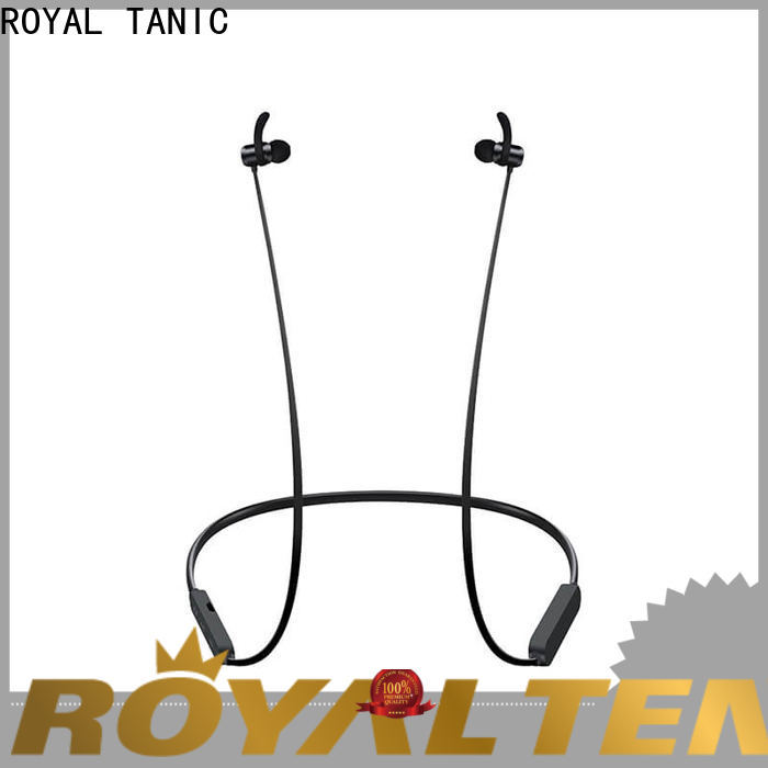 ROYAL TANIC magnet bluetooth headset factory price for hiking