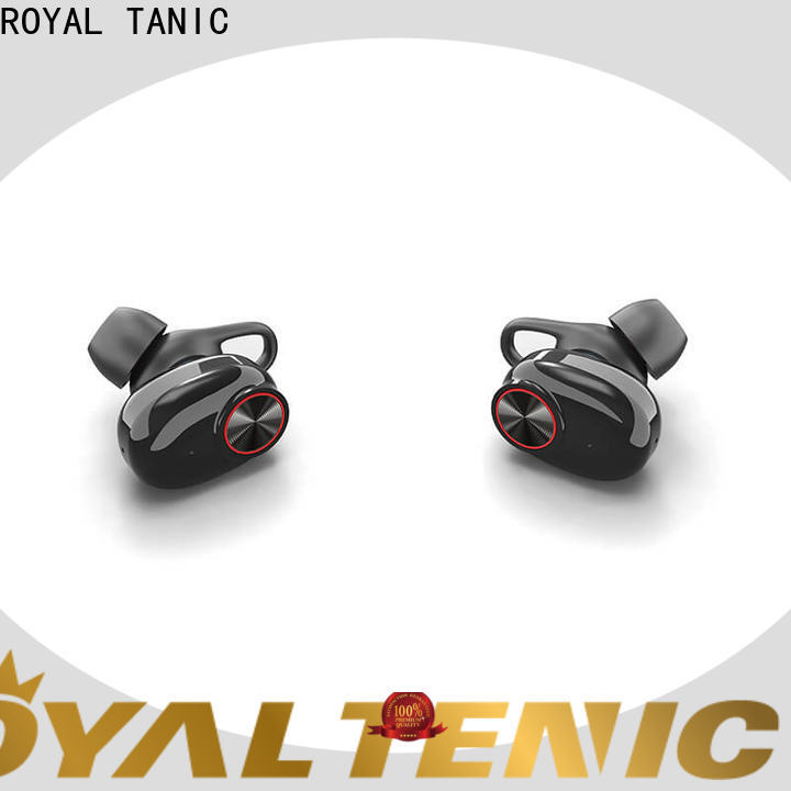 ROYAL TANIC tws wireless earbuds factory price for phone