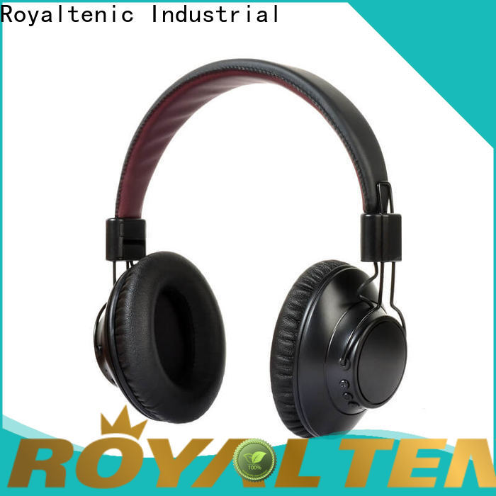 ROYAL TANIC best anc bluetooth headphones supplier for office