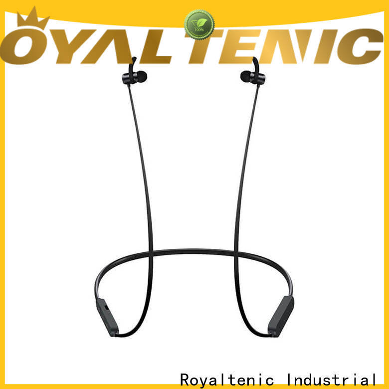 ROYAL TANIC technical magnetic wireless earphones from China for running