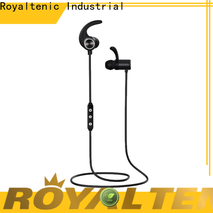 ROYAL TANIC sports bluetooth headphones promotion for home