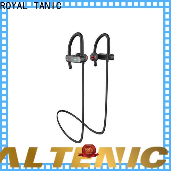 long lasting waterproof bluetooth headphones customized for running