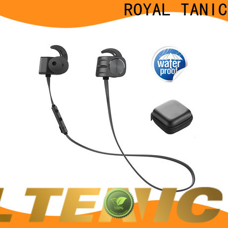 ROYAL TANIC comfortable magnetic wireless earphones easy to carry for daily life