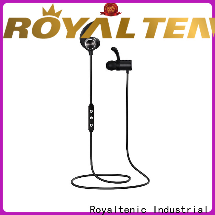 ROYAL TANIC sports bluetooth headphones promotion for phone