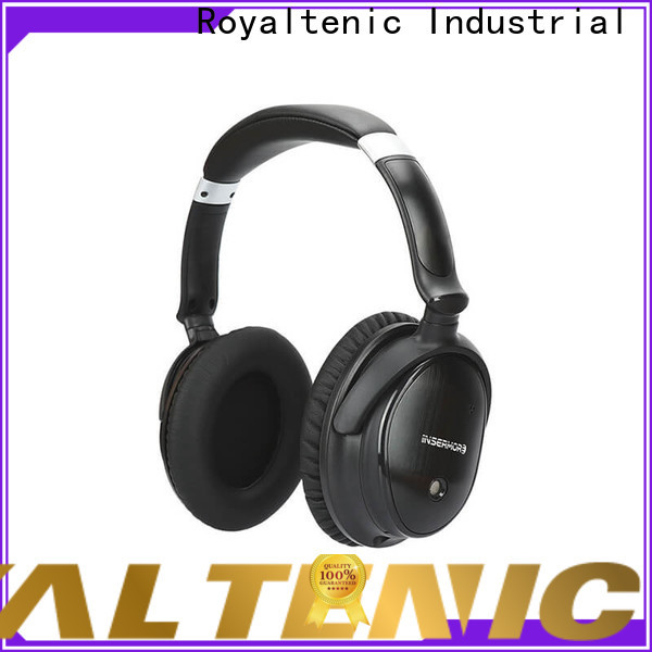 ROYAL TANIC good quality anc bluetooth headphones on sale for airplanes