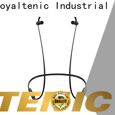 ROYAL TANIC magnet bluetooth headset design for hiking