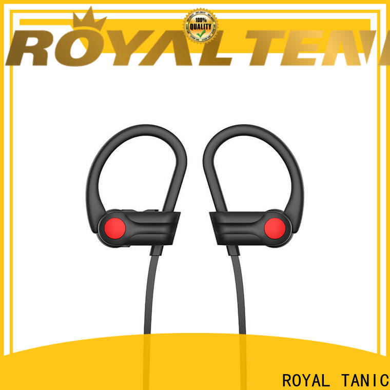 ROYAL TANIC long lasting gym headphones directly sale for hiking