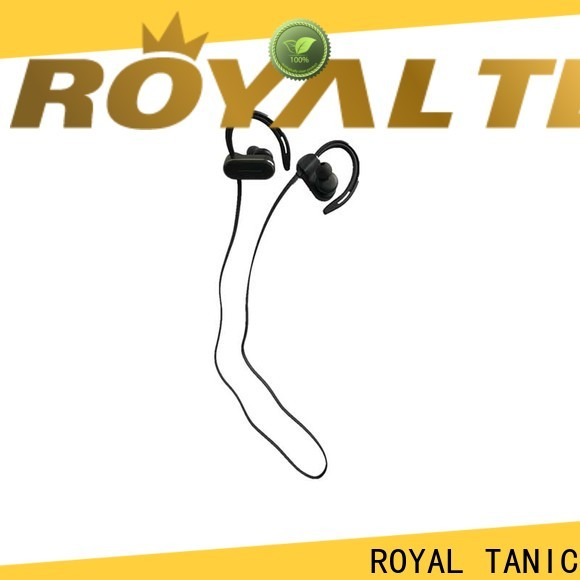 ROYAL TANIC sports bluetooth headphones with mic for work