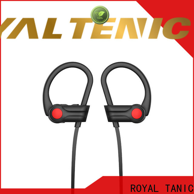 ROYAL TANIC long lasting waterproof bluetooth headphones directly sale for running