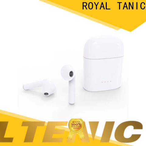 ROYAL TANIC efficient tws earbuds factory price for office
