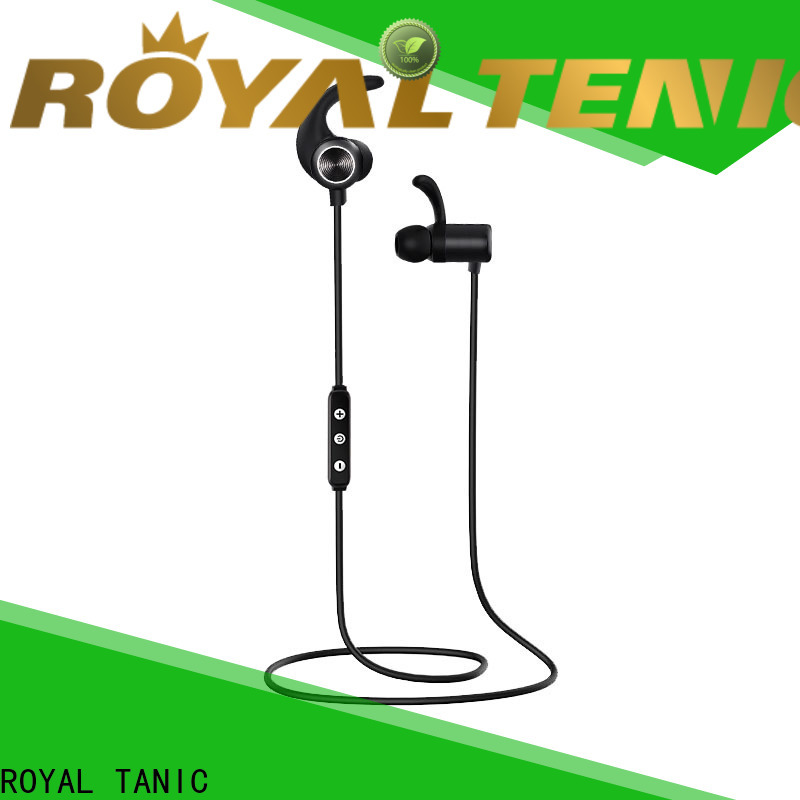 ROYAL TANIC efficient sports bluetooth headphones online for office