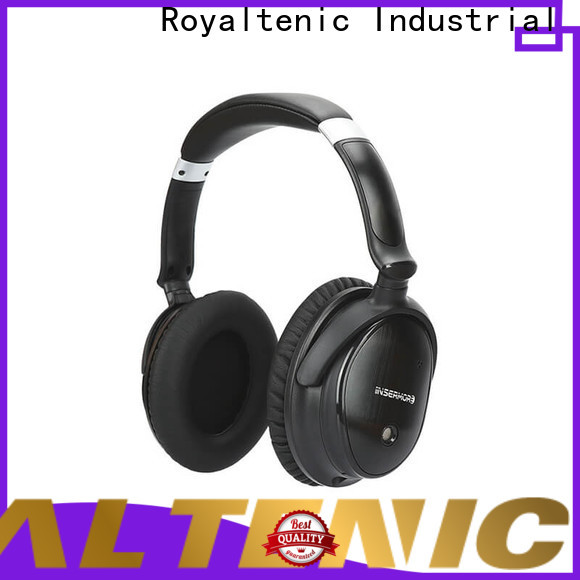 ROYAL TANIC realiable noise isolating headphones supplier for office
