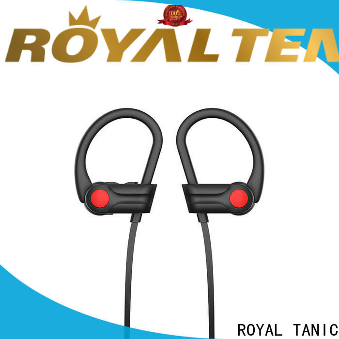 ROYAL TANIC gym headphones customized for exercise
