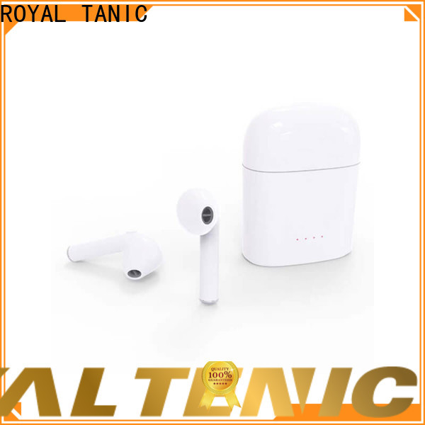 ROYAL TANIC tws wireless earbuds factory price for office