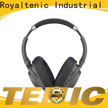 ROYAL TANIC anc bluetooth headphones supplier for trains