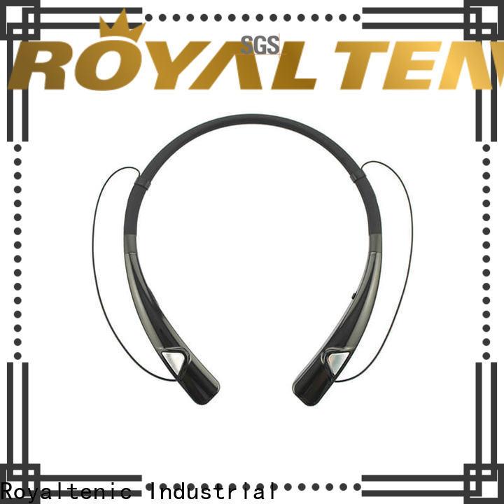 ROYAL TANIC popular magnetic wireless earphones manufacturer for running