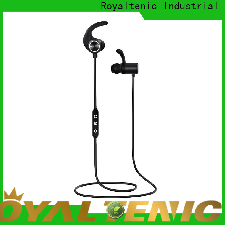 ROYAL TANIC good quality sports bluetooth headphones promotion for office