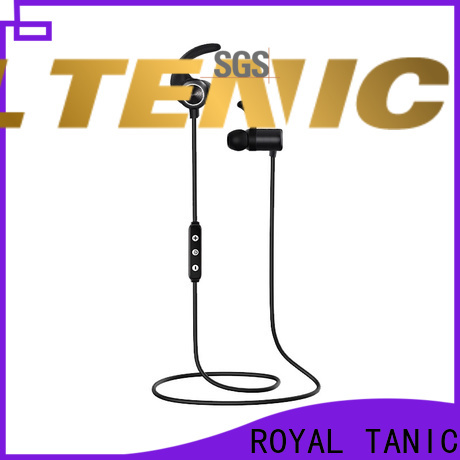 ROYAL TANIC sports bluetooth headphones with mic for phone