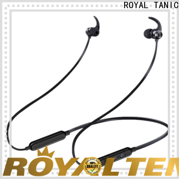 ROYAL TANIC efficient sports bluetooth headphones with mic fro daily life