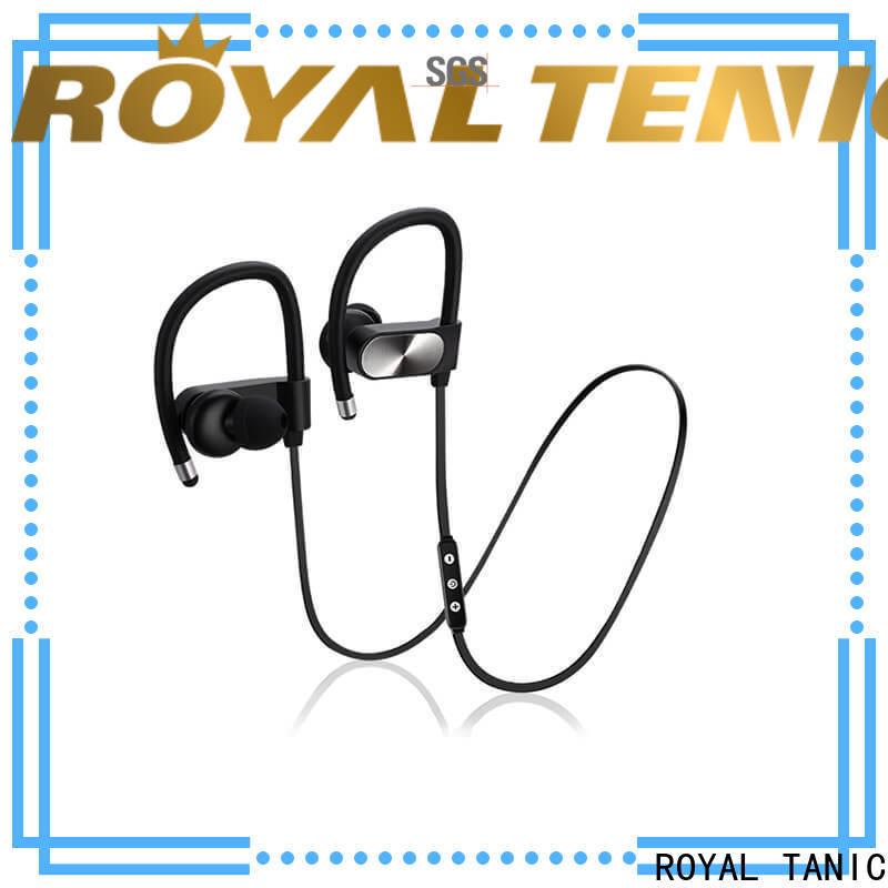 ROYAL TANIC long lasting waterproof bluetooth headphones series for running