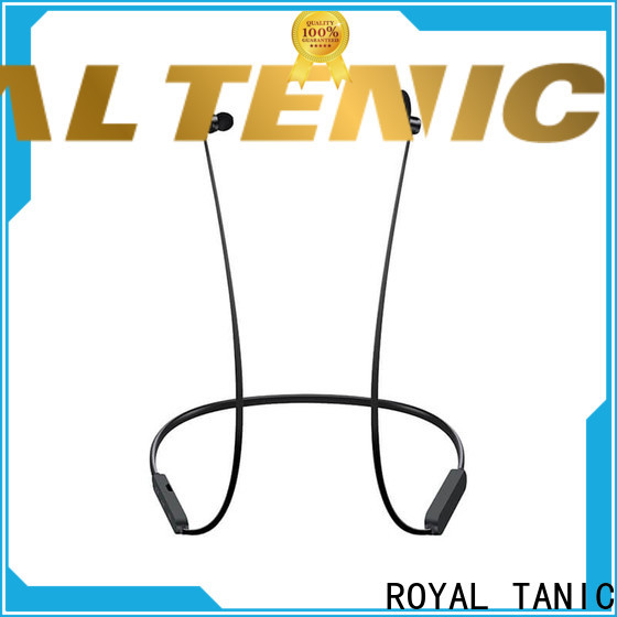 ROYAL TANIC magnetic wireless earphones easy to carry for running