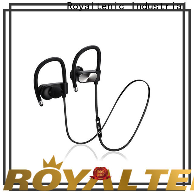 ROYAL TANIC waterproof bluetooth headphones customized for running